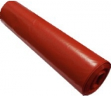 Press Garbage bag 70 x 110 cm, red roll 25 pieces