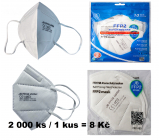 JB Oral protective respirator 5-layer FFP2 Mask CE 1463 2,000 pieces