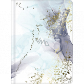 Albi Diary 2022 daily Marble 17 x 12.6 x 2.5 cm