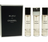 Chanel Bleu de Chanel Eau de Toilette Refill for Men 3 x 20 ml