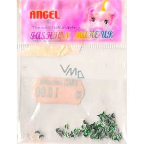 Angel nail decorations marigolds green 1 package