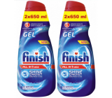 Finish All in 1 Max Shine & Protect dishwasher gel 2 x 650 ml