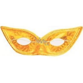 Golden hologram cat eyes mask suitable for adults