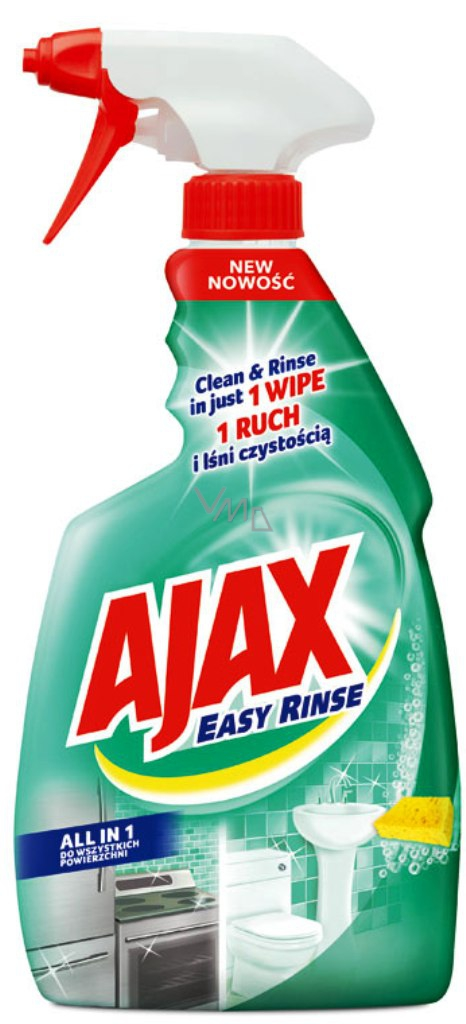 Ajax Easy Rinse All in 1 Kitchen and bathroom cleaner ...