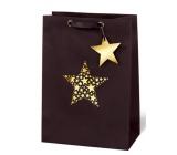 BSB Luxury gift paper bag 36 x 26 x 14 cm Christmas Star Festival VDT 417 - A4
