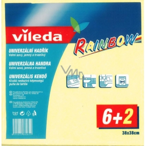 Vileda Universal cloth 38 x 38 cm 6 + 2 pieces