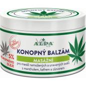 Alpa Hemp massage balm with hemp oil 250 ml