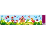 Room Decor Window foil without glue princess strip 64 x 15 cm