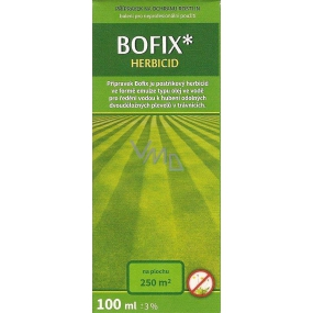 Agro Bofix product against weeds in ornamental lawns 100 ml