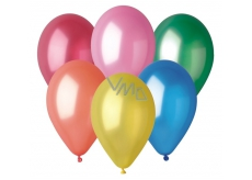 Balloons inflatable metallic mix color 26 cm 100 pieces in a bag