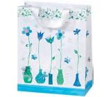 BSB Dárková papírová taška střední 23 x 19 x 9 cm Blue Dreams LDT 372-A5