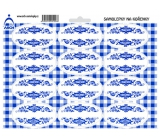 Spice Stickers Untitled - Blue 1008