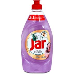 Jar DermaProtect Silk & Orchid 450 ml hand dishwashing detergent