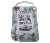 Albi Foldable bag with zipper name Marta 42 x 41 x 11 cm
