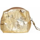 Albi Eco Mini Bag Made of Washable Paper Gold 8 x 7.5 x 3 cm