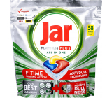 Jar Platinum Plus All in One Lemon Dishwasher Capsules 58 pieces
