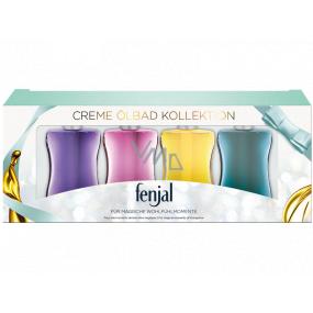 Fenjal Creme Bath Oil Classic + Moringa + Rose + Passionflower cream bath oil 4 x 50 ml, cosmetic set