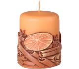 Emocio Cinnamon Cinnamon scented candle cylinder 50 x 60 mm