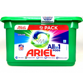 Ariel All-in-1 Pods Color gel capsules for colored laundry 10 pieces 238 g
