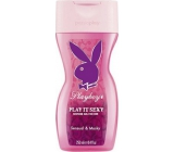 Playboy Play It Sexy shower gel for women 250 ml