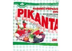 Pikanta seasoning preparation loose with salt and sugar for pickling cucumbers, vegetables and mushrooms