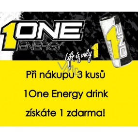 DÁREK 1One Energy drink 250 ml