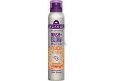 Aussie Wash + Blow Peach Fusion suchý šampon 180 ml