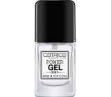Catrice Power Gel 2in1 Base & Top Coat podkladový a krycí lak na nehty 10 ml