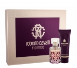 Roberto Cavalli Florence perfumed water for women 50 ml + body lotion 75 ml, gift set