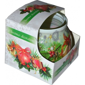 Admit Christmas Decorations aromatic candle in glass 80 g