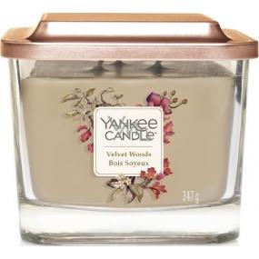 Yankee Candle Velvet Woods Elevation Medium Glass 3 Wicks 347 g