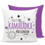 Nekupto Gift Center Pillow with dedication Best friend 30 x 30 cm