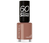 Rimmel London 60 Seconds Super Shine Nail Polish nail polish 101 Taupe Throwback 8 ml