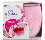 Glade by Brise Only Love vonná svíčka ve skle 123 g