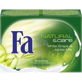 Fa Natural & Care White grape toilet soap 100 g