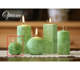 Lima Marble Opium scented candle green ball 60 mm 1 piece