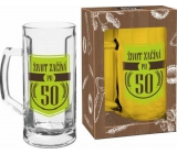 Albi My Bar Beer mug with ear Life starts after 50 500 ml