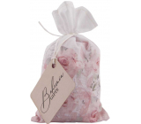 Bohemia Gifts Rosarium with extracts from rose hips and rose flowers bath salt in a linen bag 150 g