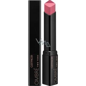Catrice Ombré Two Tone Lipstick Lipstick 010 Rockabily Rosewood 2.5 g