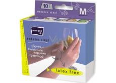 Matopat Ambulex Vinyl rukavice vinylové pudrované velikost M 10 kusů
