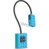 If Block Light Lego Lampička na knihu Modrá 32 x 20 x 220 mm