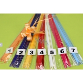 Cable tie no. 4 red gold stripe 18 x 390 mm 1 piece