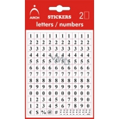 Self-adhesive numerals 0-9 5mm 5026
