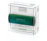 Millefiori Milano Icon White Musk - White musk car scent Classic green smells up to 2 months 47 g