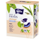 Bella Herbs Plantago Sensitive Hygienic Aromatic Interstitial Inserts 60 Pieces + Candle Swabs 30 Free