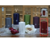 Lima Zircon candle wine cylinder 80 x 150 mm 1 piece