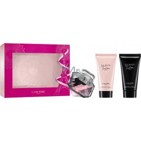 Lancome La Nuit Trésor EdP 30 ml Women's scent water + 50 ml Women's Body Lotion + 50 ml Women's Shower Gel, Gift Set