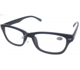Berkeley Reading Glasses +1 Plastic Black MC2079
