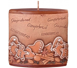 Emocio Gingerbread Gingerbread scented candle ellipse 110 x 45 x 110 mm