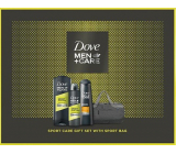 Dove Men + Care Sport shower gel for men 400 ml + antiperspirant spray 150 ml + hair shampoo 250 ml + cosmetic bag, cosmetic set